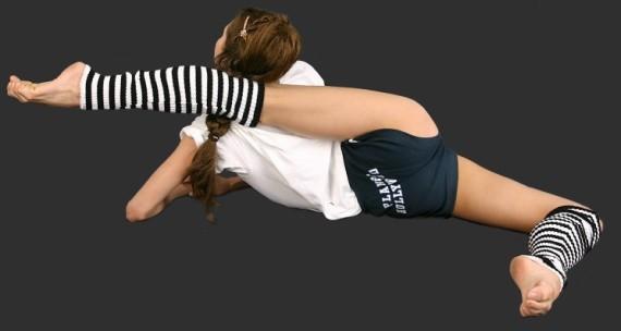 Гимнастка Ирина Казакова